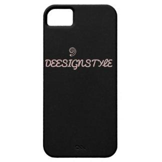 """Aller schwarze"" DeeSignStyle Telefon-Kasten iPhone 5 Etui"