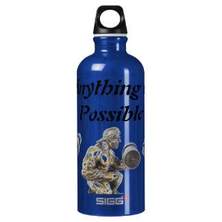 Aller von möglichem Weightlifting Aluminiumwasserflasche
