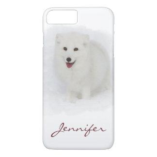 Aller weiße arktische Fox iPhone 7 Plus Hülle