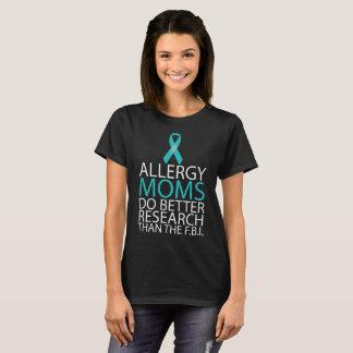 Allergie-Mammen verbessern den Forschungs-T - T-Shirt