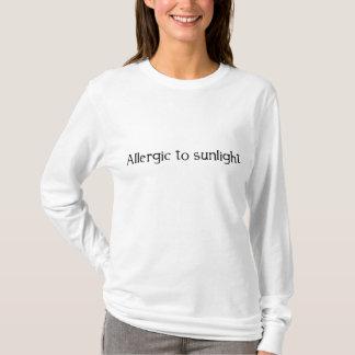 Allergisch zum Sonnenlicht T-Shirt