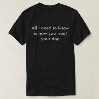 Alles, das ich Know benötige, ist wie Sie Leckerei T-Shirt