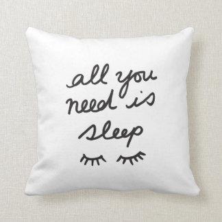 Alles, das Sie benötigen, ist Schlaf-Wurfs-Kissen Kissen