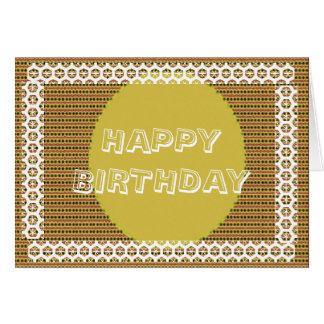 Alles Gute zum Geburtstag - ändern Sie Text für Karte