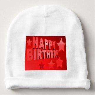 alles Gute zum Geburtstag Baby-BaumwollBeanie Babymütze