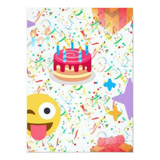 alles Gute zum Geburtstag emoji Karte