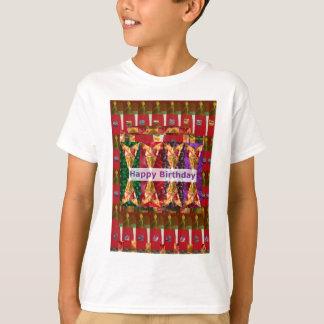 Alles Gute zum Geburtstag KUNST n Skript: T-Shirt