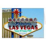 Alles Gute zum Geburtstag Las Vegass VATI! Karte