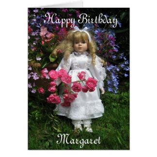 Alles Gute zum Geburtstag Margaret Karte