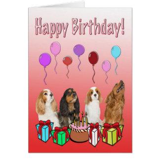 Alles Gute zum Geburtstag mit vier Karte