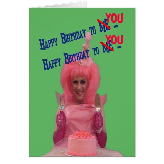 Alles Gute zum Geburtstag Miz Baumwolle Karte
