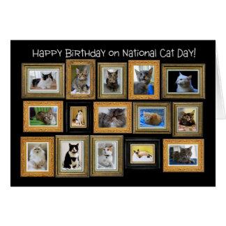 Alles Gute zum Geburtstag, nationale Karte