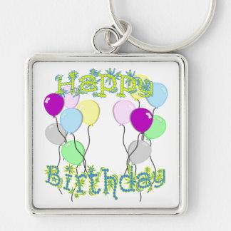 Alles Gute zum Geburtstag - PastellD6 Geburtstag Schlüsselanhänger