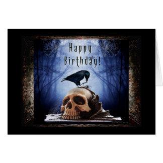 Alles Gute zum Geburtstag - Raben-Höhle Karte