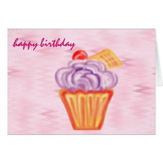 alles Gute zum Geburtstag: riesiger kleiner Karte