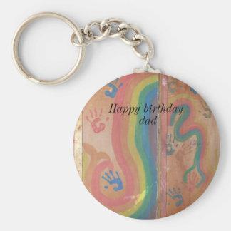 Alles Gute zum Geburtstag Vati-Grafiken Schlüsselanhänger
