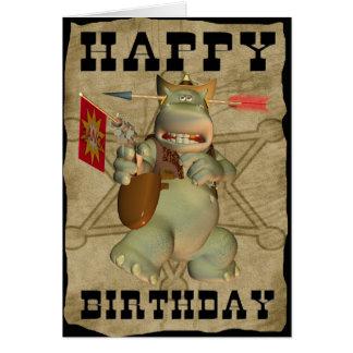 Alles Gute zum Geburtstag von der Karte