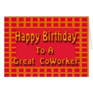 Alles Gute zum Geburtstag zu einem großen Grußkarte