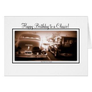 Alles Gute zum Geburtstag zu einem Klassiker Karte
