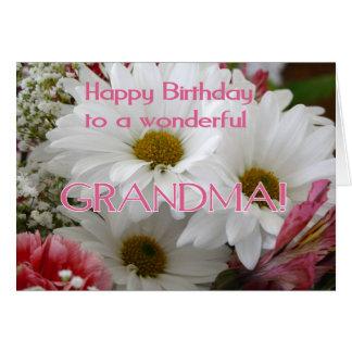 Alles Gute zum Geburtstag zu einer wunderbaren Karte