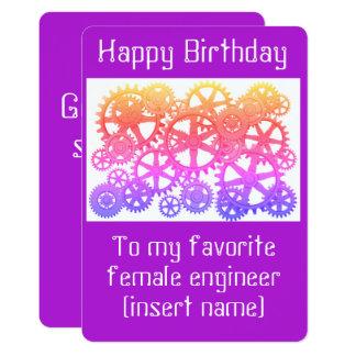 Alles Gute zum Geburtstag zu meinem weiblichen Karte