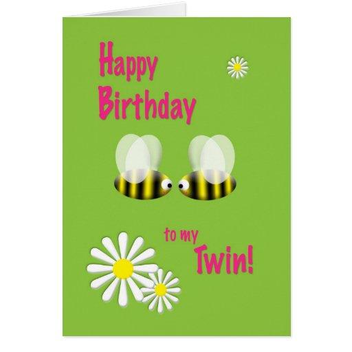 Alles Gute Zum Geburtstag Zwillinge Gl252ckw252nsche Lustige