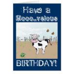 Alles Gute zum Geburtstag zu MOO! - Grußkarten