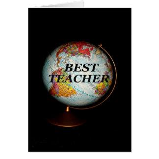 Alles Gute zum Geburtstag zum besten Lehrer auf Karte