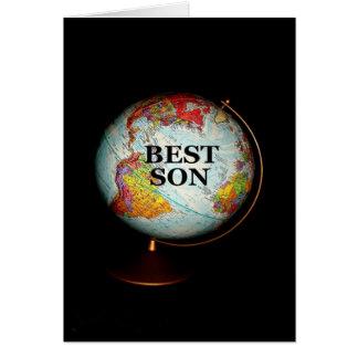 Alles Gute zum Geburtstag zum besten Sohn auf Karte