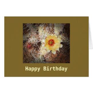 Alles- Gute zum Geburtstagblühende Grußkarte