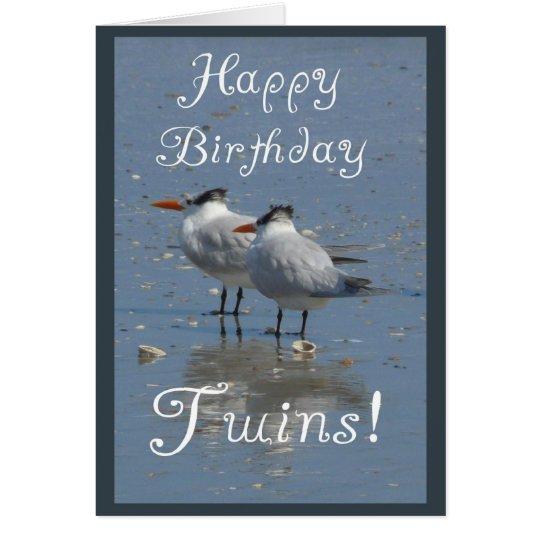 Alles- Gute zum Geburtstagc$zwilling-identische Karte