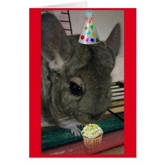 Alles- Gute zum Geburtstagchinchilla Karte