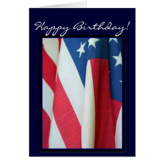 Alles- Gute zum GeburtstagFlaggegrußkarte Grußkarte