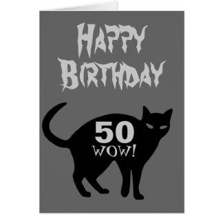 Alles- Gute zum Geburtstagkarte 50. Grußkarte
