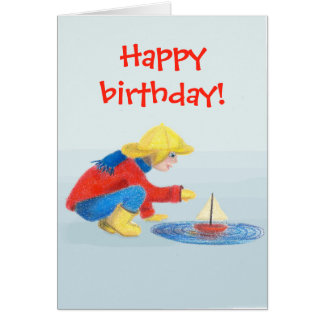 Alles- Gute zum Geburtstagkarte der Kinder Karte