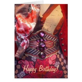 Alles Gute zum Geburtstagkarte der Mode Karte