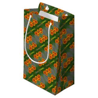 alles Gute zum Geburtstagkarte Kleine Geschenktüte