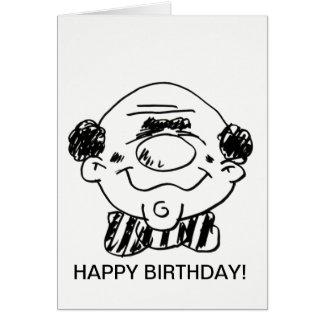 Alles Gute zum Geburtstagkarte zu einem großen Karte