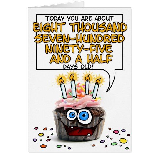 Alles- Gute zum Geburtstagkleiner kuchen - 24 Grußkarte