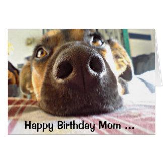 Alles- Gute zum Geburtstagmamma die, die ich oben Karte