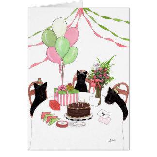 Alles Gute zum Geburtstagscotties-Hundekarte durch Karte