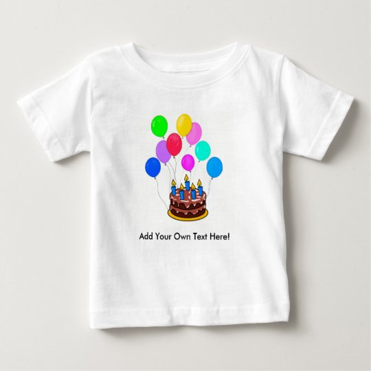 Alles- Gute zum GeburtstagShirt - fertigen Sie Baby T-shirt