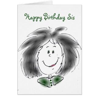 Alles- Gute zum Geburtstagsis Karte