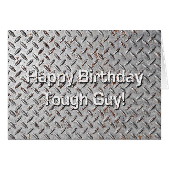Alles- Gute zum Geburtstagstarker Typ-humorvolle Karte