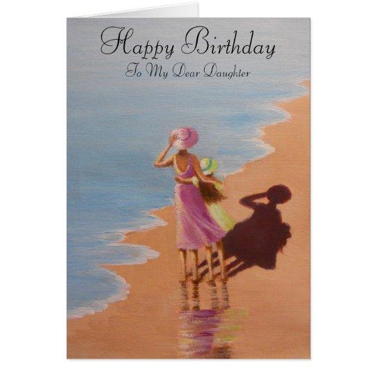 Alles- Gute zum Geburtstagtochter, Grußkarte