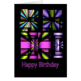 Alles- Gute zum Geburtstagwind-Räder Karte
