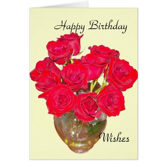 Alles- Gute zum Geburtstagwünsche Karte