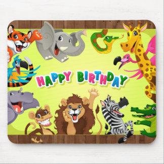 Alles- Gute zum GeburtstagZootiere Mauspads