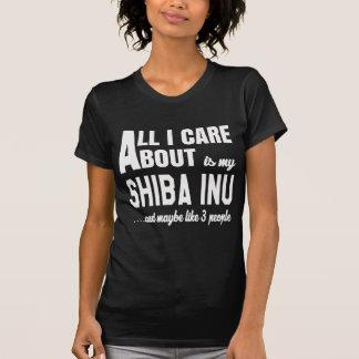 Alles i-Sorgfalt ist ungefähr mein Shiba Inu. T-Shirt