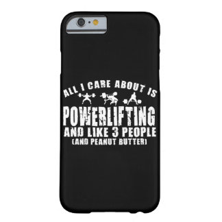Alles i-Sorgfalt ist ungefähr Powerlifting. Barely There iPhone 6 Hülle